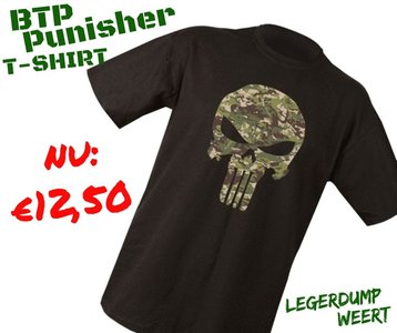 Punisher T-shirt BTP camo