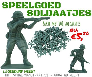 speelgoed soldaatjes