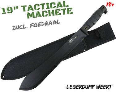 "19"" Tactical Machete"