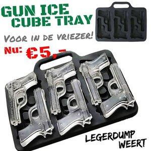 pistool ijsblokjes