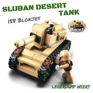 SLUBAN DESERT TANK