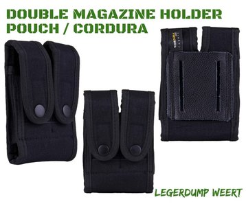 Double magazine holder pouch