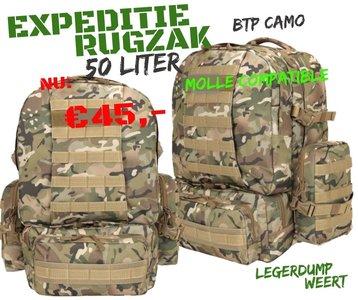 Expedition Pack - 50ltr - BTP