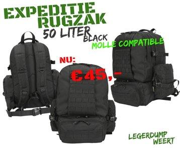 Expedition Pack - 50ltr - Black
