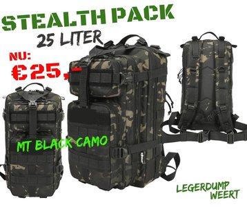 Stealth Pack - 25ltr - MT Black