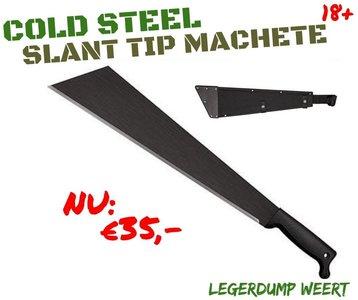 "Cold Steel Slant Tip Machete 18"""
