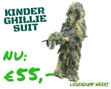 kinder ghillie suit
