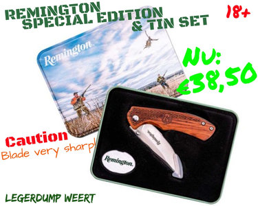 Remington limited edition zakmes