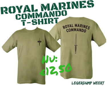 commando tshirt