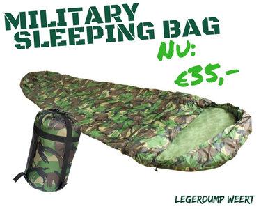 military slaapzak