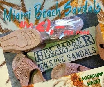 miami beach sandals