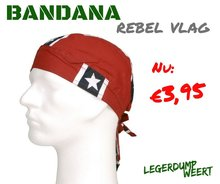bandana rebel vlag