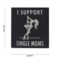 i support single moms embleem