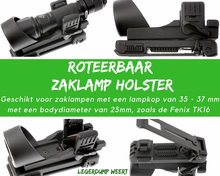 tk16 zaklamp holster